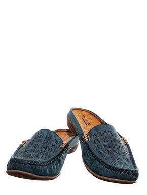 Sharon Blue Casual Clog Shoe