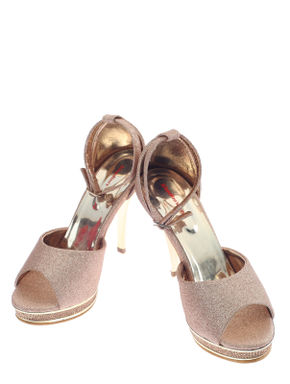 Khadim's Pink Lifestyle Heel Sandal