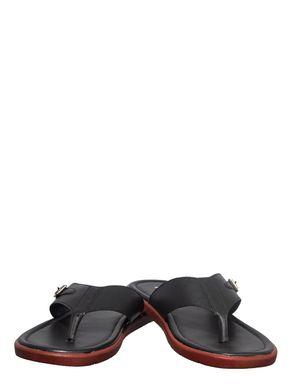 Khadim's Black Casual Dress Slipper