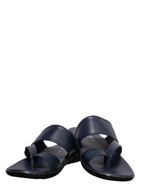 Lazard Men Navy Casual Slip-On Sandal