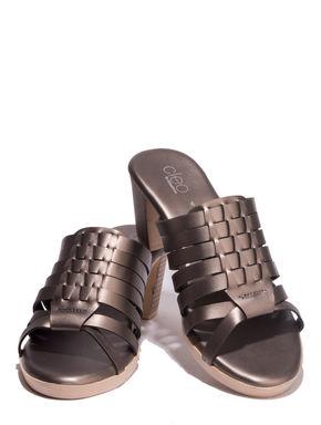 Cleo Grey Lifestyle Heel Sandal