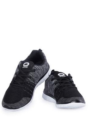 Pro Men Black Casual Dress Sneakers