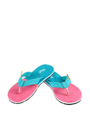Waves Teal Casual Outdoor Slipper