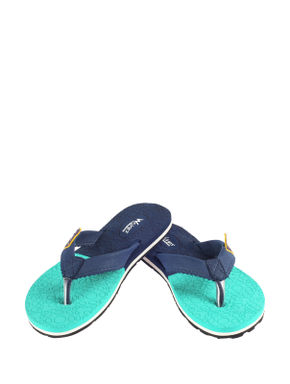 Waves Navy Casual Outdoor Slipper
