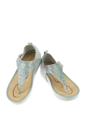 Sharon Blue Lifestyle Heel Sandal