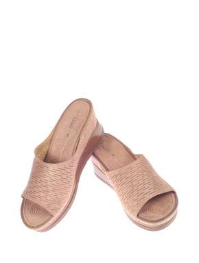 Sharon Pink Casual Slip-On Sandal