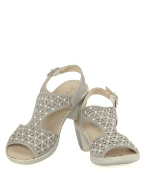 Sharon Grey Casual Strap-On Sandal