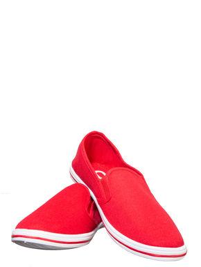 Pro Men Red Casual Canvas Shoe
