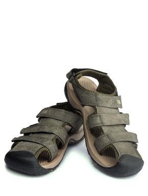 Turk Olive Casual Strap-On Sandal