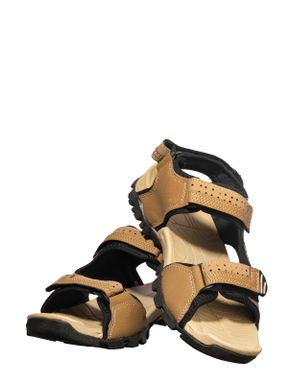 Turk Men Brown Casual Floater Sandal