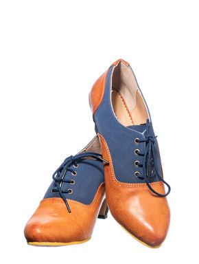 Sharon Navy Lifestyle Oxford Shoe
