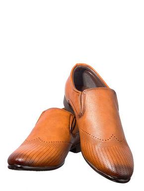 Lazard Men Brown Lifestyle Slip-On Shoe