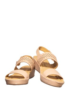 Softouch Rose Gold Casual Strap-On Sandal