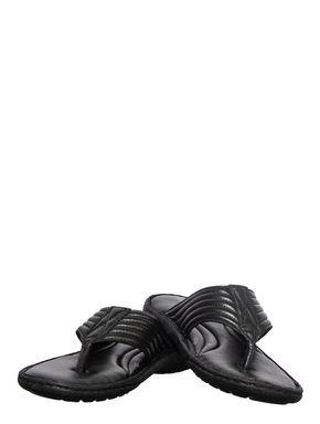 British Walkers Men Black Casual Dress Slipper