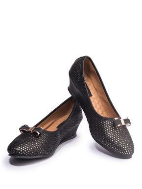 Khadim's Cleo Women Black Casual Ballerina Shoe
