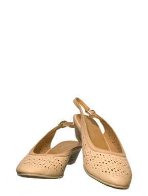 Sharon Beige Casual Strap-On Sandal