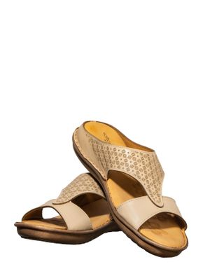 Softouch Beige Casual Slip-On Sandal