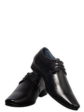 Lazard Men Black Formal Derby Shoe