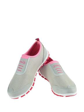 Pro Grey Sports Slip-On Sneakers