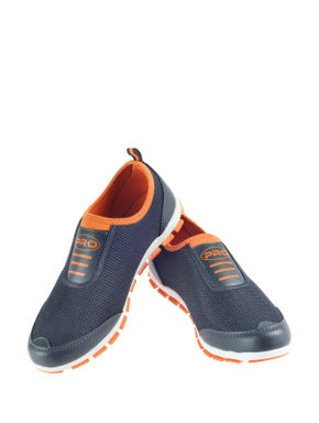 Pro Navy Sports Slip-On Sneakers