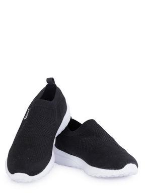 Pro Men Black Casual Slip-On Sneakers