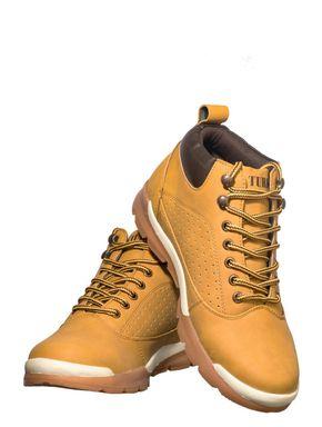 Turk Men Yellow Outdoor Safari Boots