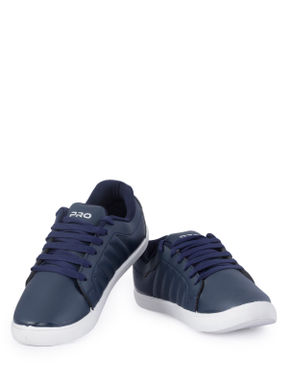 Pro Men Navy Casual Dress Sneakers