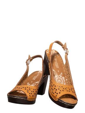 Sharon Tan Casual Heel Sandal