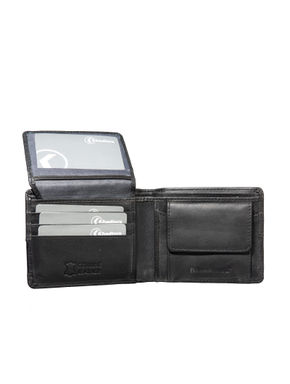 Khadim's Men Black Bi-fold Wallet