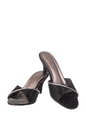 Cleo Women Black Lifestyle Heel Sandal
