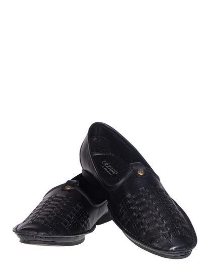 Lazard Men Black Ethnic Mojri Shoe