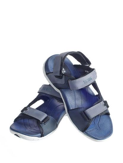 Turk Men Blue Casual Floater Sandal