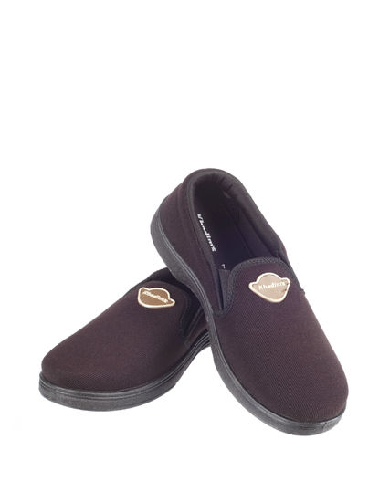 Khadim's Men Brown Casual Slip-On Sneakers