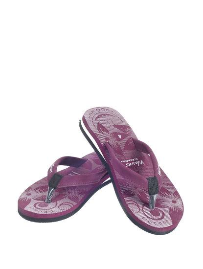 Waves Women Purple Casual Indoor Flip-Flop