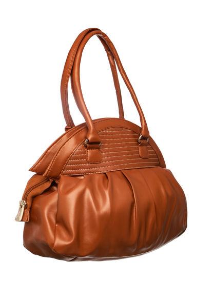 Khadim Women Tan Handbag