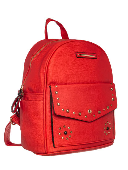 Khadim Women Red Backpack