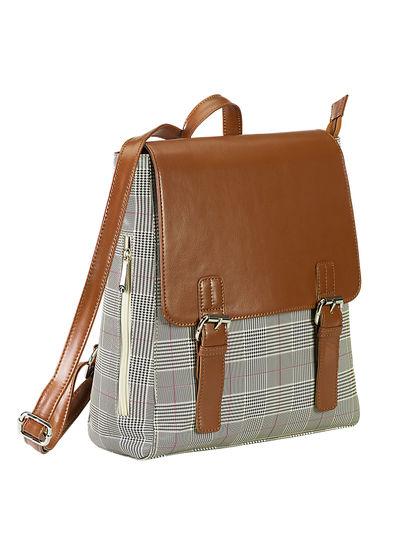 Khadim's Women Brown Backpack