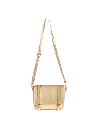 Khadim's Women Rose Gold Crossbody Bag
