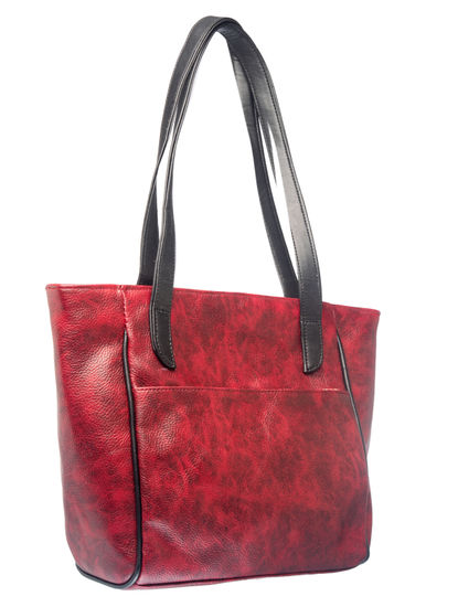 Khadim Women Maroon Handbag