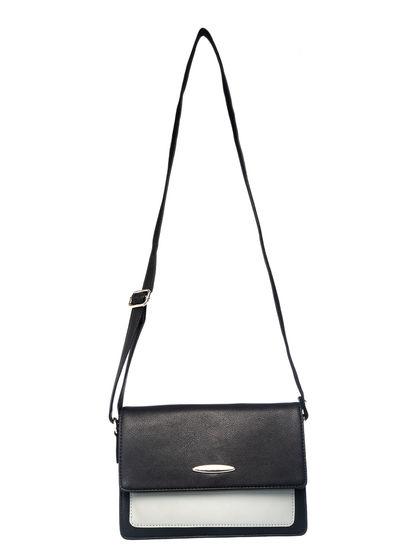 Khadim Women Black Crossbody Bag