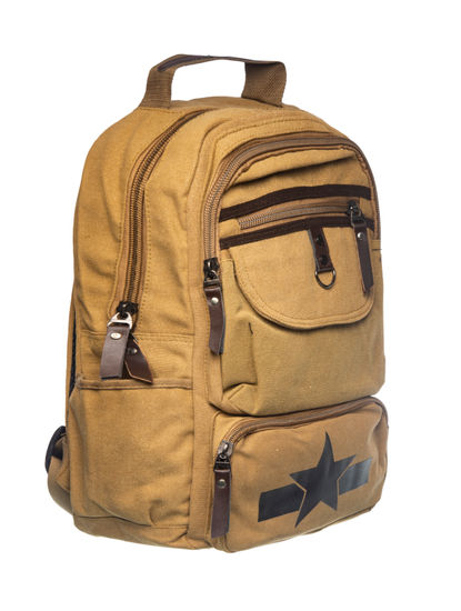 Khadim Men Tan Backpack