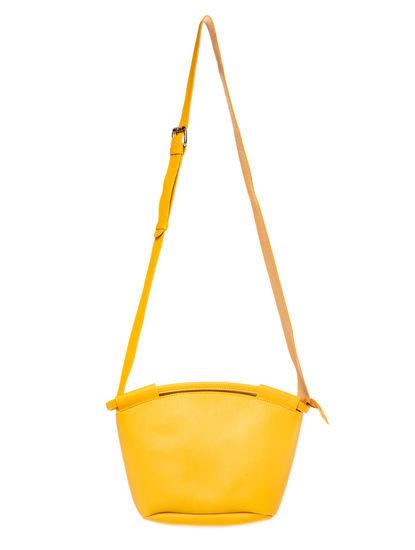 Khadim Women Yellow Crossbody Bag