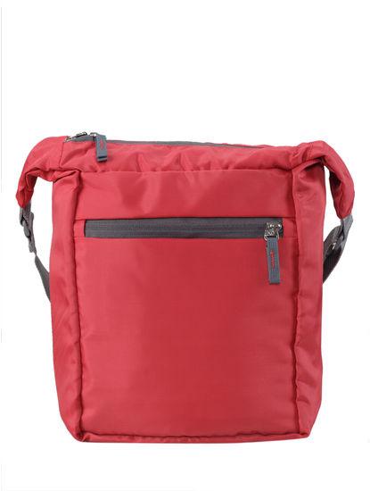 Khadim Men Red Crossbody Bag