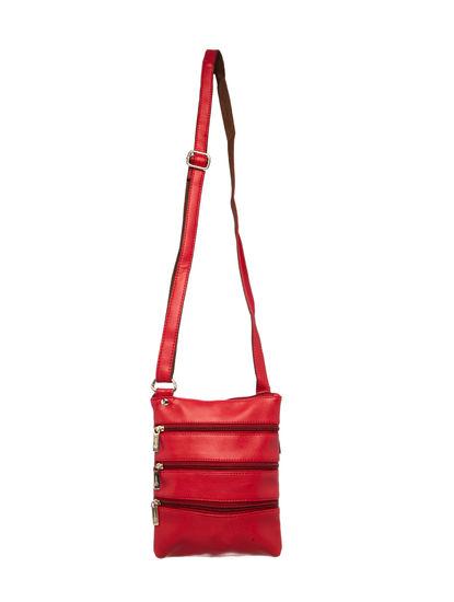 Khadim Women Red Crossbody Bag