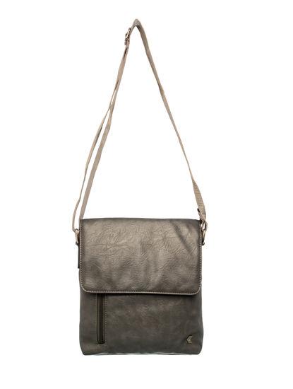 Khadim Men Grey Crossbody Bag