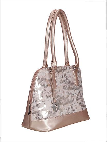 Khadim Women Rose Gold Handbag