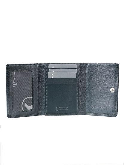 Khadim Men Green Leather Wallet