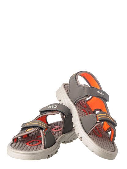 Pro Boy Grey Casual Floater Sandal