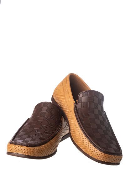 Khadim's Boy Brown Casual Slip-On Shoe
