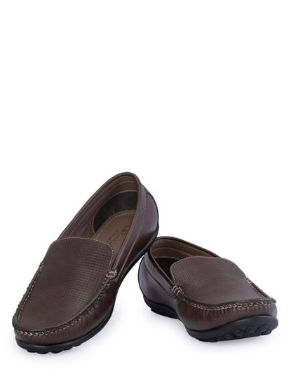 Lazard Men Brown Casual Slip-On Shoe